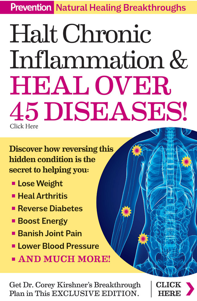 Halt Chronic Inflammation & Heal Over 45 Diseases! Click Here