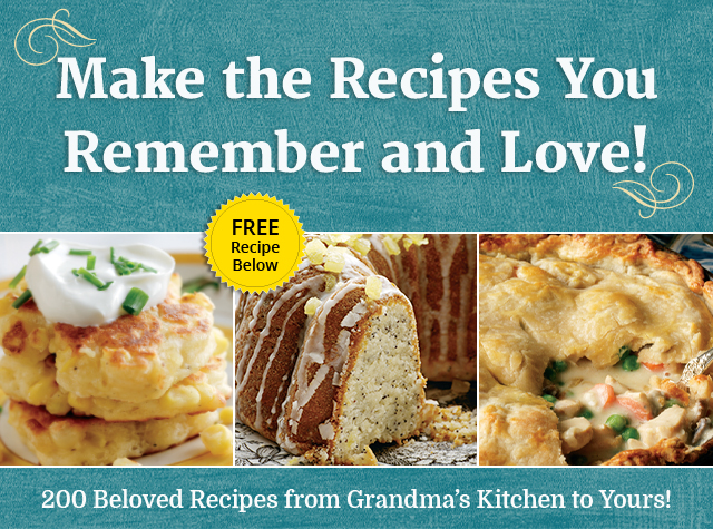 There Is Something Special About Grandma\'s Kitchen ...